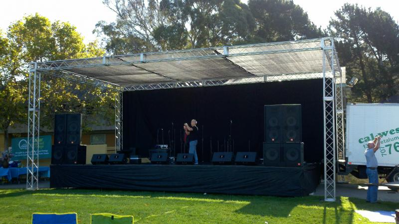 Stage Lights And Sound Rentals Amp Production Services Riser Rental Free Quote