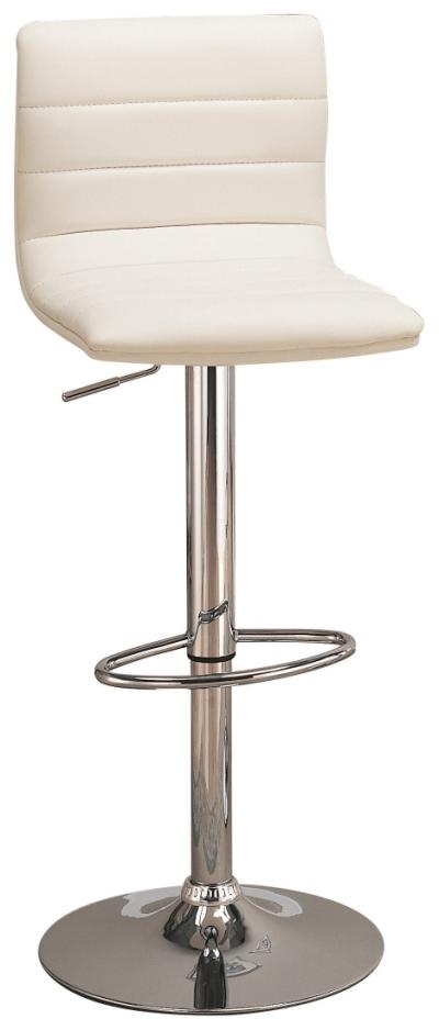 White Swivel Bar Stool